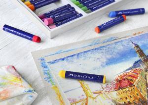 Пастель: разнообразие материала для творчества