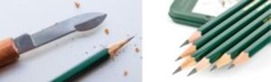 Как правильно заточить карандаш