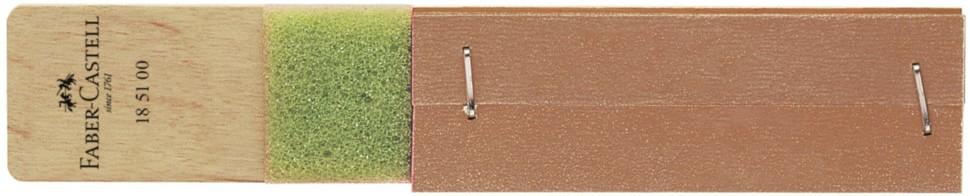 Блок с наждачной бумагой для затачивания карандашей Faber Castell