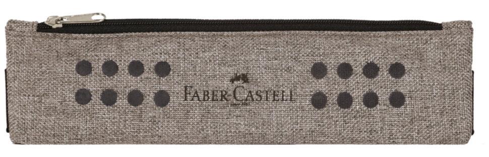 Пенал-косметичка Faber-Castell песочный