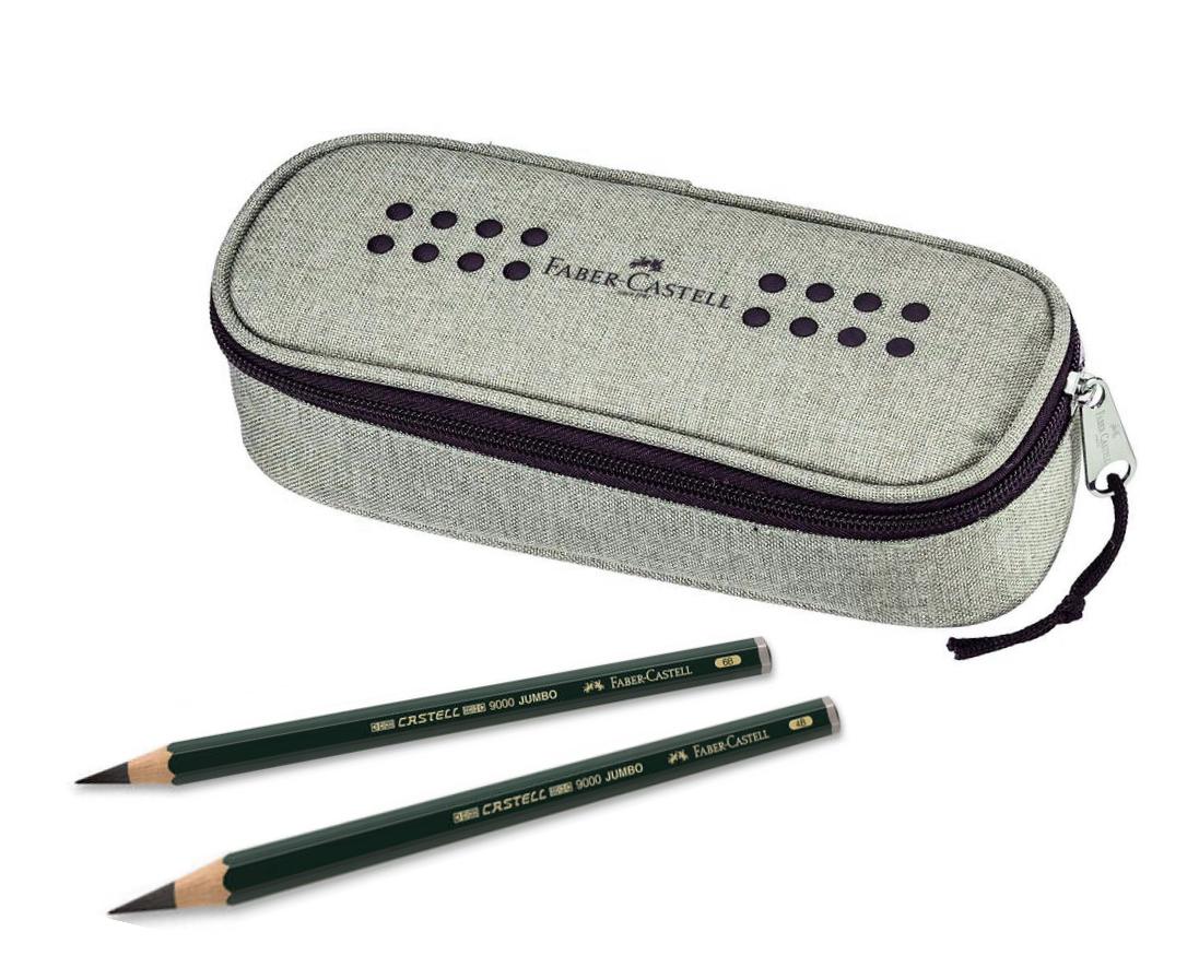 Пенал и карандаши Faber Castell