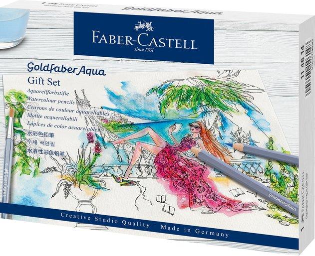 Акварельные карандаши Faber-Castell Goldfaber Aqua