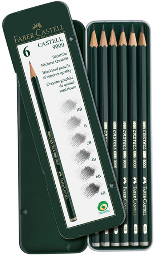 Набор чернографитных карандашей Faber Castell
