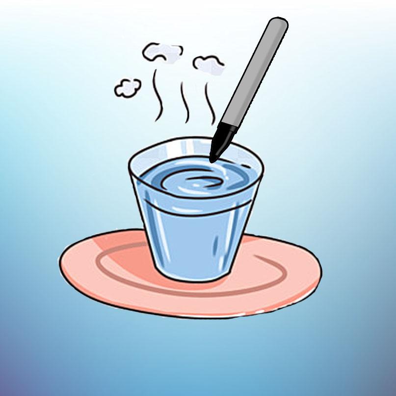 Добавление в маркер воды