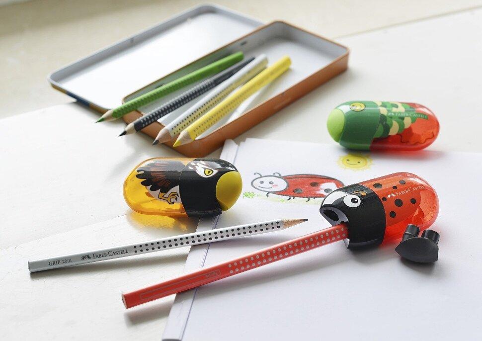Детская точилка для карандашей Faber-Castell