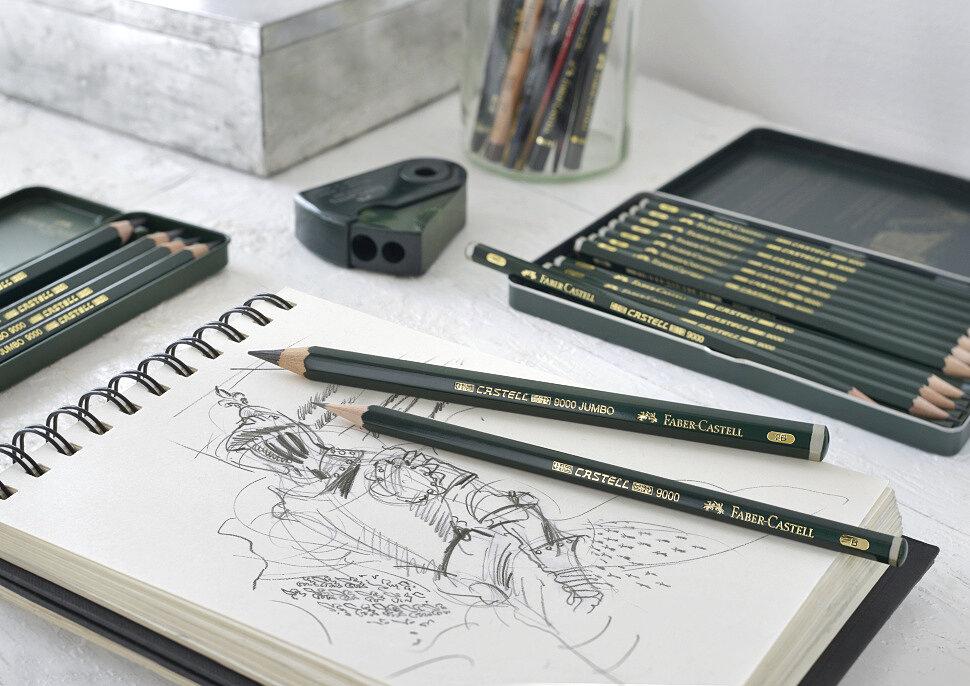 Простой карандаш Faber-Castell