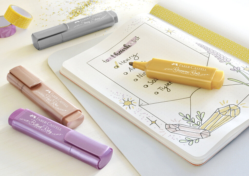 Маркеры для рисования Faber-Castell