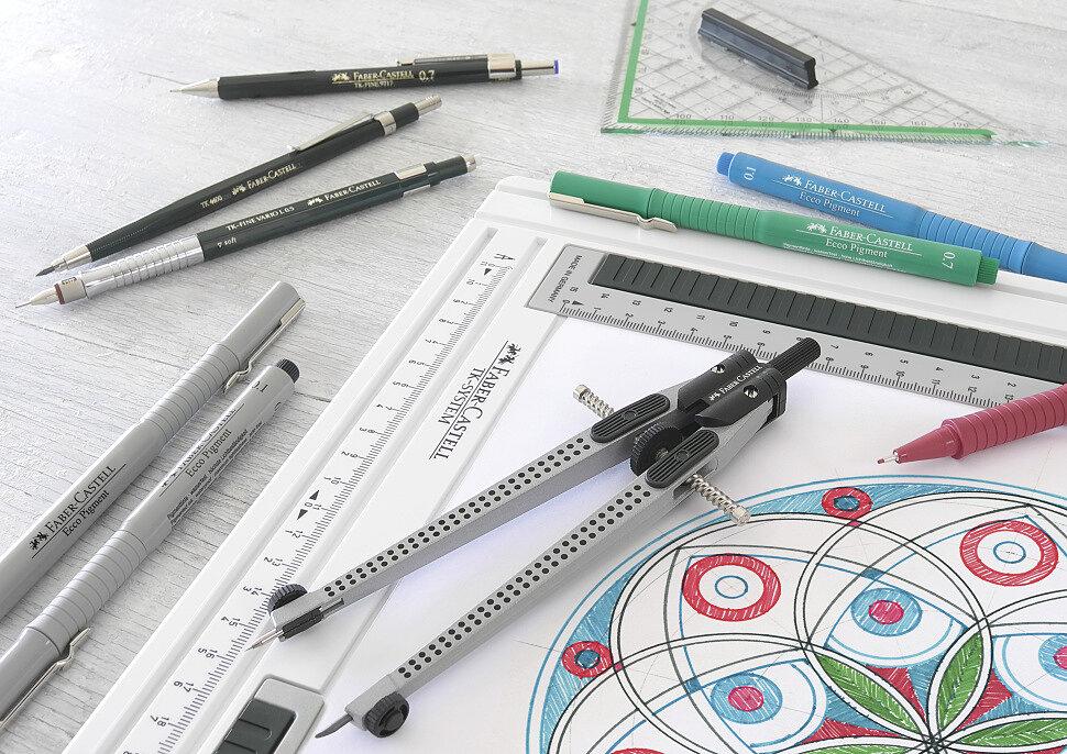 Чертежные инструменты Faber-Castell
