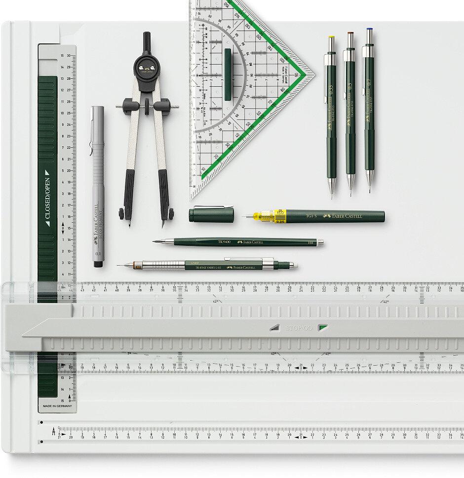 Набор чертежных инструментов Faber-Castell